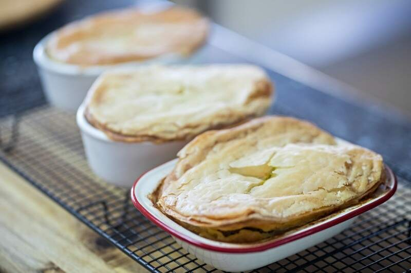 Gluten free fish pie