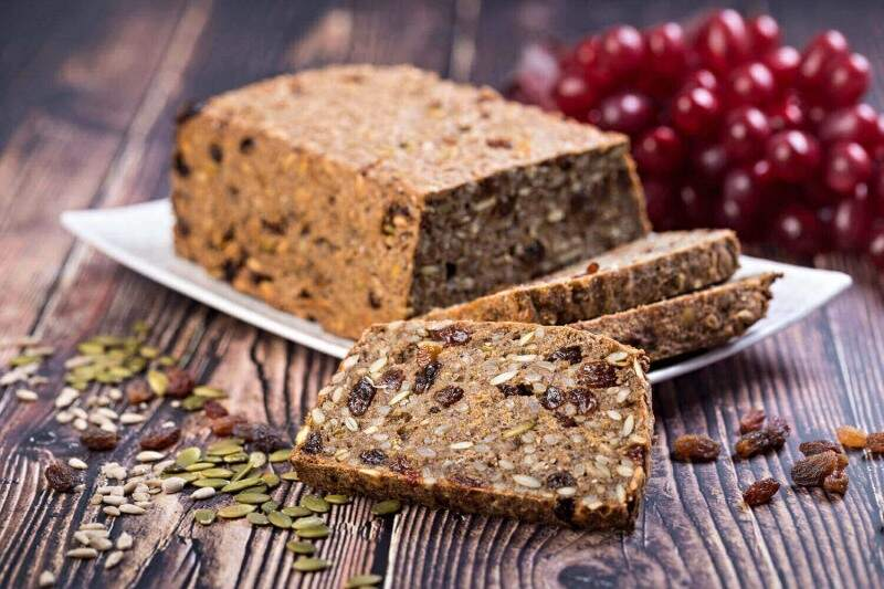 fruit and seed loaf