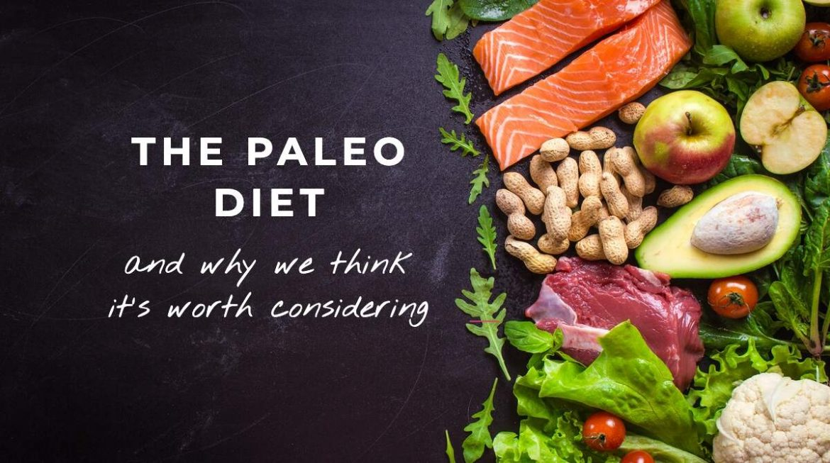 Paleo diet - An image of healthy food