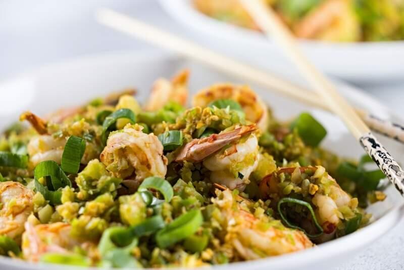 Prawn Broccoli Fried Rice